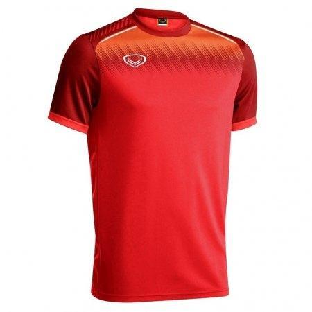 เสื้อกีฬาฟุตบอล แกรนด์สปอร์ต(สีแดง) รหัส :011456