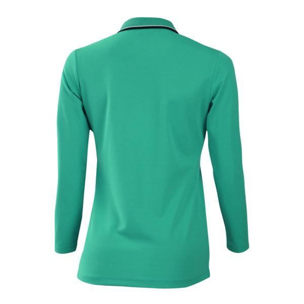 เสื้อโปโลหญิงแขนยาวแกรนด์สปอร์ต (สีเขียว) รหัส:012779