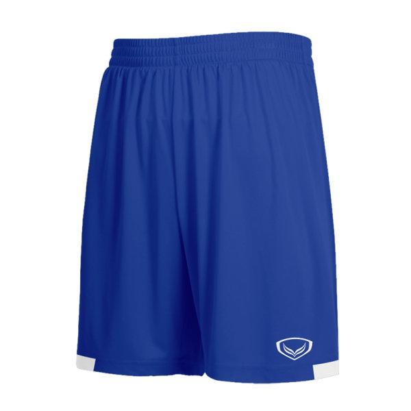 กางเกงกีฬาฟุตบอลตัดต่อ แกรนด์สปอร์ต รหัสสินค้า:001481  (สีน้ำเงิน)