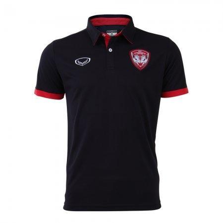 เสื้อโปโลคอปกเมืองทอง 2019 รหัสสินค้า : 040501 (สีดำ)