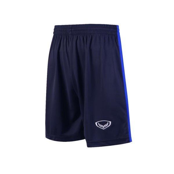 กางเกงกีฬาฟุตบอล แกรนด์สปอร์ต รหัส : 001543 (สีกรม-น้ำเงิน)