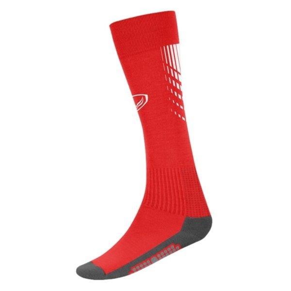 แกรนด์สปอร์ต ถุงเท้ากีฬาฟุตบอลทอลาย (สีแดง) รหัส:025130