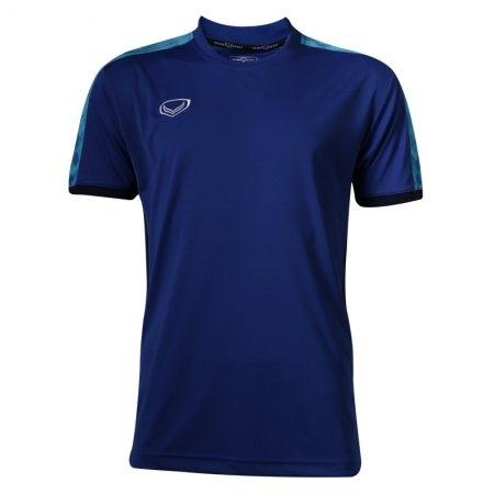 เสื้อฟุตบอลแกรนด์สปอร์ต (สีน้ำเงิน) รหัส:038266