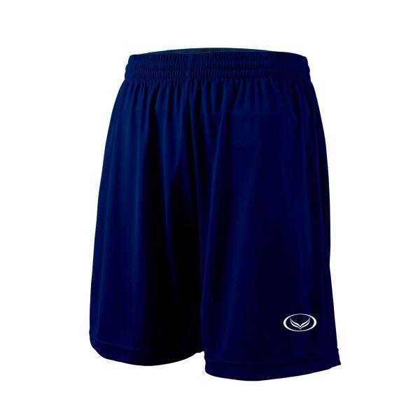 กางเกงฟุตบอลสีล้วน แกรนด์สปอร์ต (สีกรม) รหัส : 001516