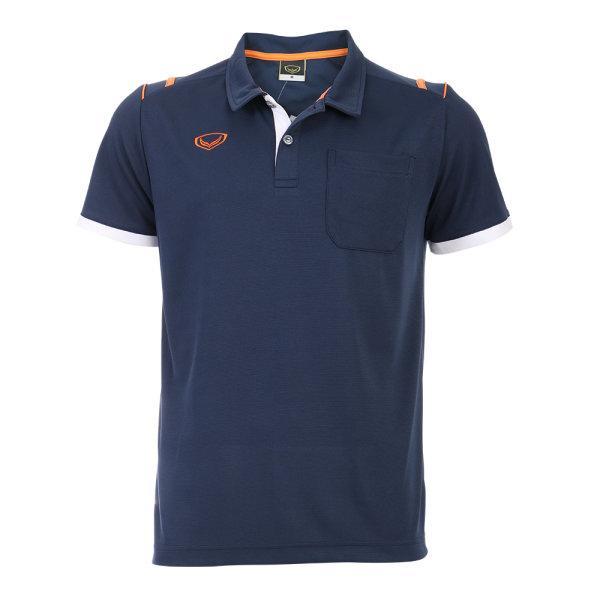 เสื้อโปโลชายแกรนด์สปอร์ต รหัสสินค้า : 012567 (สีกรม)