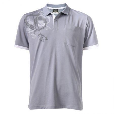 เสื้อโปโลชายแกรนด์สปอร์ต(สีเทา) รหัส:012558