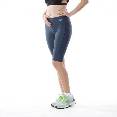 กางเกงออกกำลังกาย แกรนด์สปอร์ต ขา 3 ส่วน (สีเทา) รหัส : 028475