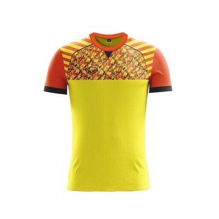 เสื้อฟุตบอลแกรนด์สปอร์ต  (สีเหลือง) รหัส :011444