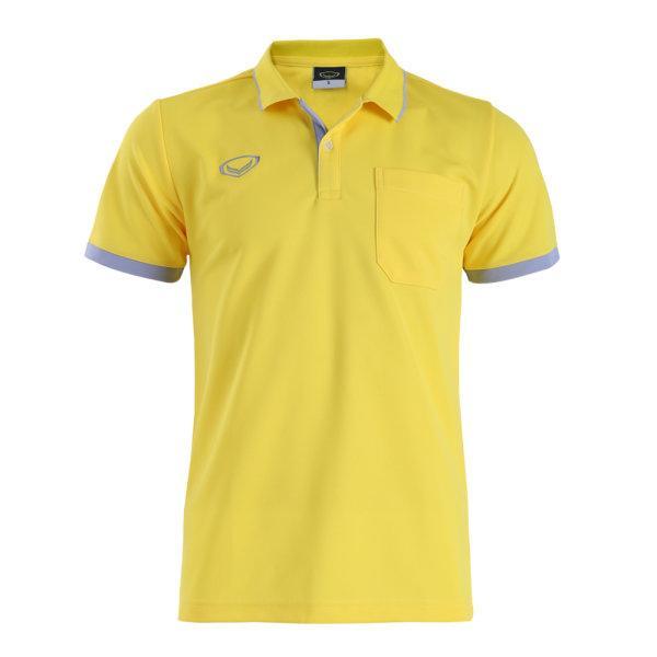 เสื้อโปโลชายสีเหลืองแกรนด์สปอร์ต รหัส :012571