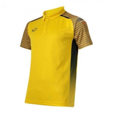 เสื้อโปโลกีฬาพิมพ์แขนแกรนด์สปอร์ต(สีเหลือง) รหัส :072039