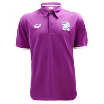 แกรนด์สปอร์ตเสื้อโปโลฟุตบอลทีมชาติ (สีม่วง)