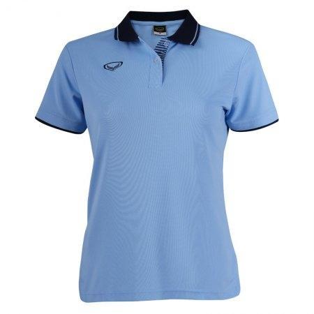 เสื้อโปโลหญิงแกรนด์สปอร์ต(สีฟ้า) รหัส : 012693
