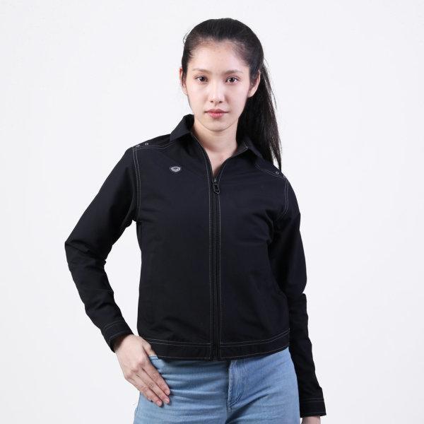 เสื้อแจ็คเก็ต(หญิง)แกรนด์สปอร์ต รหัสสินค้า : 020662 (สีดำ)