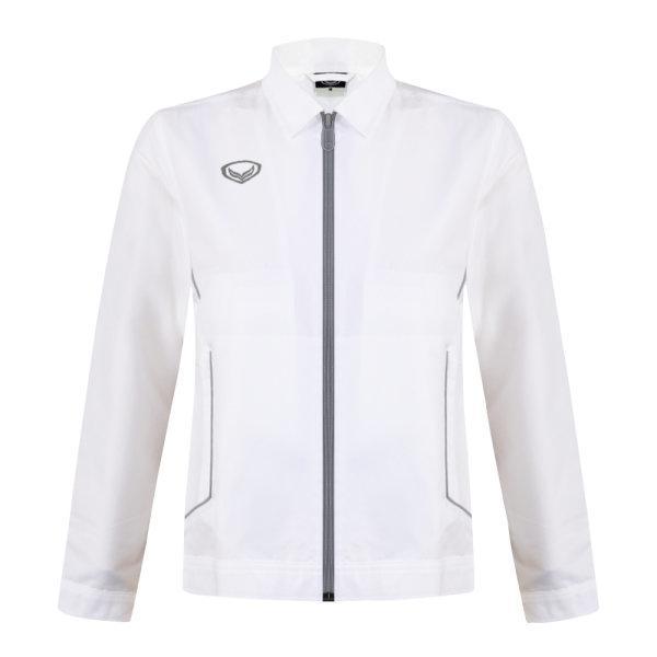 เสื้อแจ็คเก็ตหญิง แกรนด์สปอร์ต รหัส : 020654 (สีขาว)