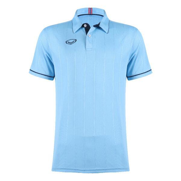 เสื้อคอปกแกรนด์สปอร์ต รหัส : 023183 (สีฟ้า)