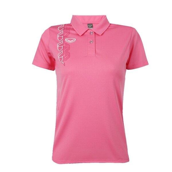 เสื้อโปโลหญิง แกรนด์สปอร์ต รหัส : 012783 (สีชมพู)