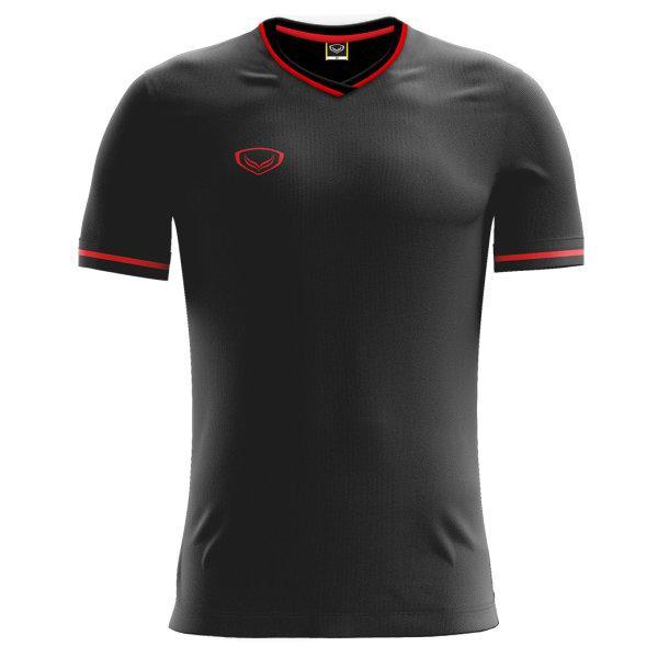 เสื้อฟุตบอลแกรนด์สปอร์ต  รหัส : 011547 (สีดำ)