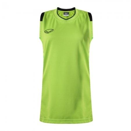 เสื้อบาสเกตบอลแกรนด์สปอร์ตหญิง(สีเขียว)รหัส:013157