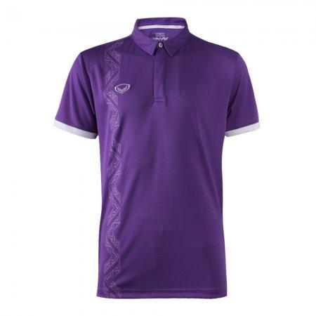เสื้อโปโลทีมชาติ วอลเลย์บอลปี2018 (สีม่วง) รหัส :023161
