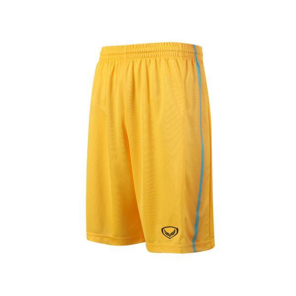 กางเกงบาสเกตบอลตัดต่อพิมพ์ลายแกรนด์สปอร์ต รหัสสินค้า: 003160 (สีเหลือง)