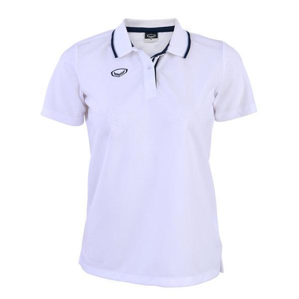 เสื้อโปโลหญิงแกรนด์สปอร์ต รหัส :012769 (สีขาว)