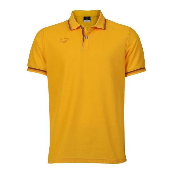 เสื้อโปโลชายแกรนด์สปอร์ต รหัสสินค้า : 012580 (สีเหลือง)