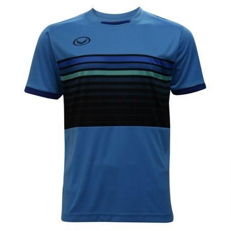 เสื้อกีฬาฟุตบอลแกรนด์สปอร์ต (สีฟ้า) รหัส:011E01