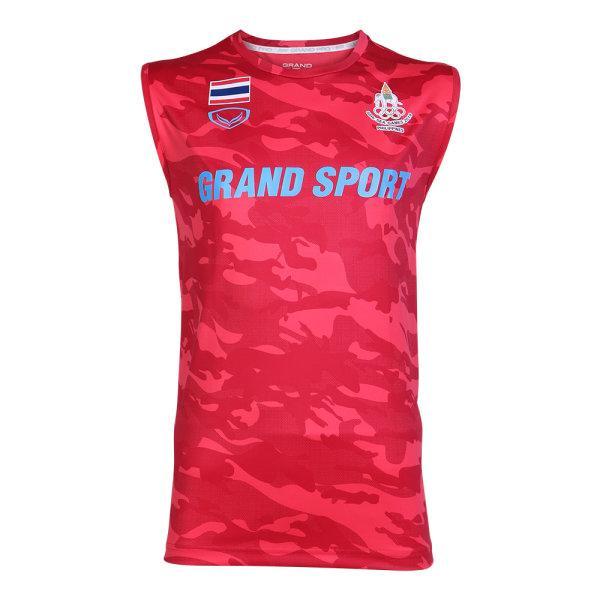 แกรนด์สปอร์ต เสื้อซ้อม S.E.A. GAMES 2019 (แขนกุด) รหัส :038310 (สีแดง)