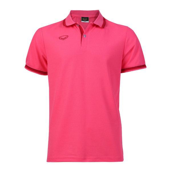 เสื้อโปโลชายแกรนด์สปอร์ต รหัสสินค้า : 012580 (สีบานเย็น)
