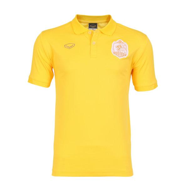 เสื้อโปโลคอปกทีมท่าเรือ 2020  รหัสสินค้า : 022018 (สีเหลือง)