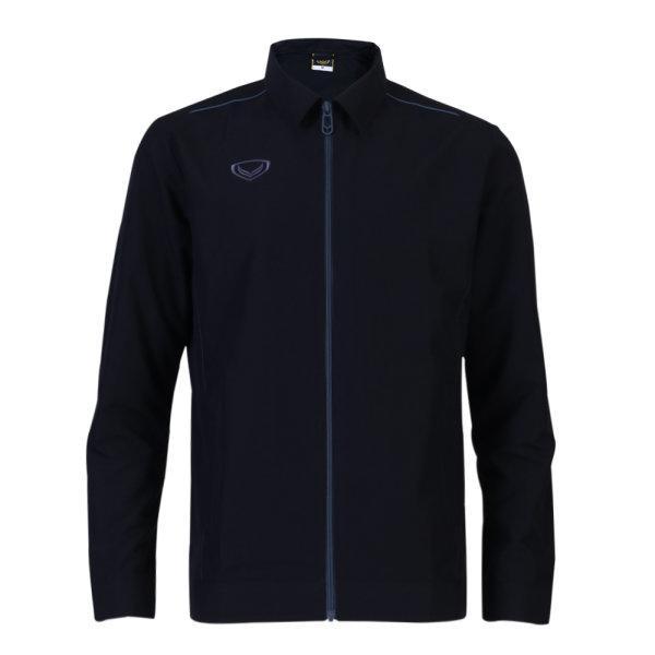 แกรนด์สปอร์ตเสื้อแจ็คเก็ต (สีดำ) รหัสสินค้า : 020655