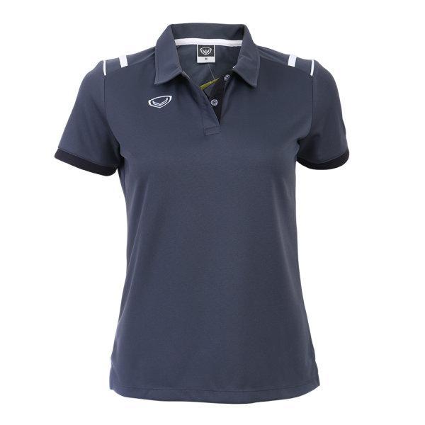 เสื้อโปโลหญิงแกรนด์สปอร์ต รหัส :012767 (สีเทา)