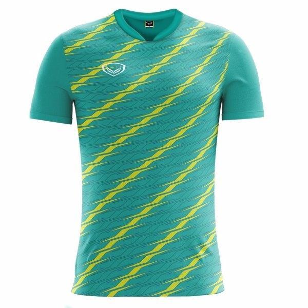 แกรนด์สปอร์ตเสื้อกีฬาฟุตบอล รหัส : 011460 (สีเขียว)