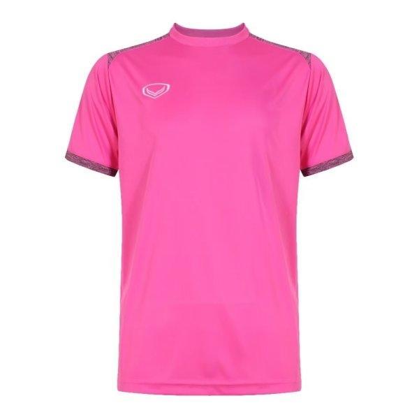 เสื้อกีฬาฟุตบอลตัดต่อรหัส: 011472 (สีบานเย็น)