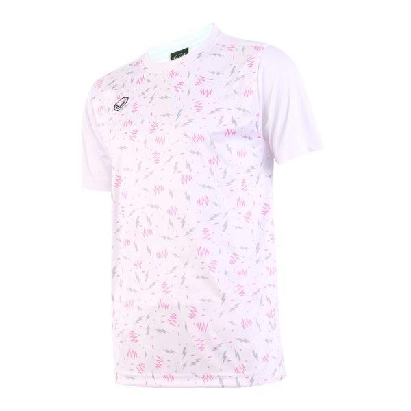 เสื้อกีฬาฟุตบอล แกรนด์สปอร์ต รหัส:011477 (สีขาว)