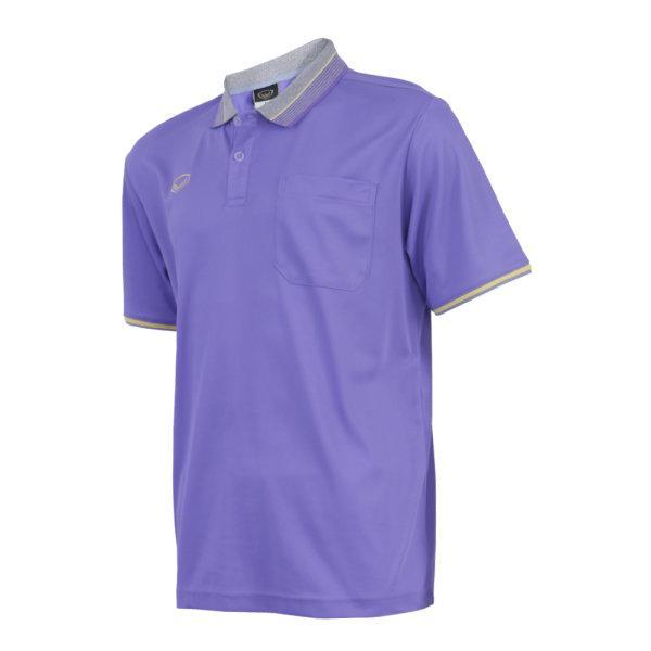เสื้อโปโลชายสีม่วงแกรนด์สปอร์ต รหัส :012568