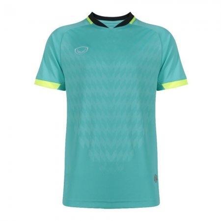 เสื้อฟุตบอล แกรนด์สปอร์ต(Emboss) สีเขียว รหัส:011446