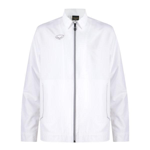 เสื้อแจ็คเก็ตชาย แกรนด์สปอร์ต รหัส : 020653 (สีขาว)