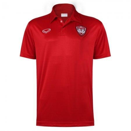 เสื้อโปโลสโมสรเมืองทอง 2018 (สีแดง) รหัส:023976