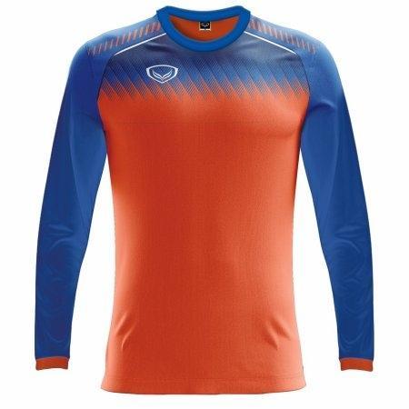 เสื้อฟุตบอลแกรนด์สปอร์ตแขนยาว (สีส้ม) รหัส :011459
