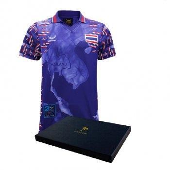 เสื้อฟุตบอลศักดิ์ศรีปฐพีไทย(สีน้ำเงิน) รหัส : 038267