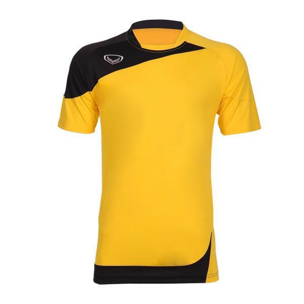 เสื้อประตูฟุตบอล แขนสั้น รหัส :018082 (สีเหลือง)
