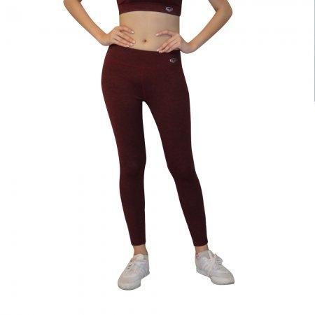 กางเกงออกกำลังกายขายาว(Top dyed) รหัสสินค้า:028492(สีแดง)