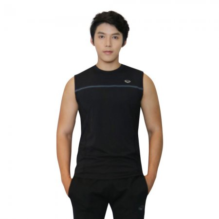เสื้อแขนกุดชาย แกรนด์สปอร์ต(สีดำ) รหัส: 028389
