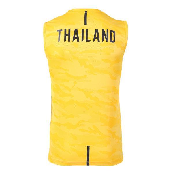 แกรนด์สปอร์ต เสื้อซ้อม S.E.A. GAMES 2019 (แขนกุด) รหัส :038310 (สีเหลือง)