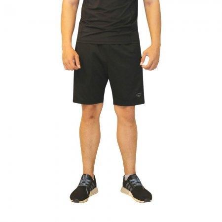 กางเกงขาสั้นชาย แกรนด์สปอร์ต รหัสสินค้า:028675(สีดำ)