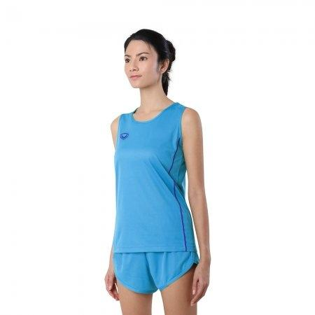 เสื้อวิ่งหญิงกุ้นด้านข้าง (Grand Sport RUNNING) รหัส: 017128 (สีฟ้า)