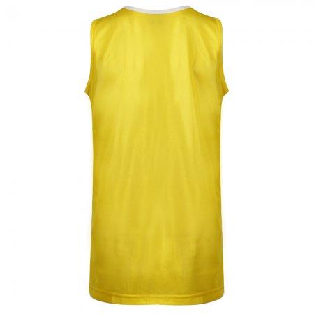 เสื้อวิ่งหญิงตัดต่อด้านหน้า(สีเหลือง) รหัส :017110