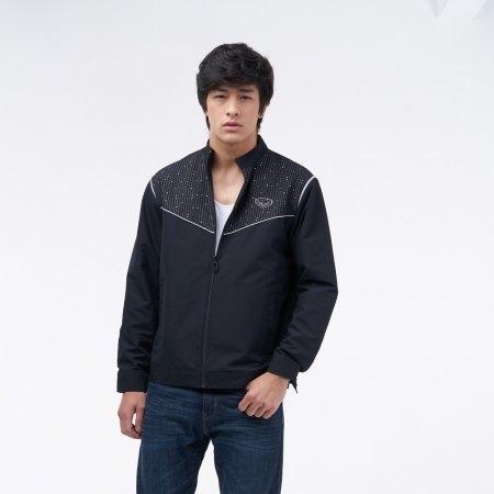 เสื้อแจ็คเก็ตแกรนด์สปอร์ต (สีดำ) รหัส : 020647