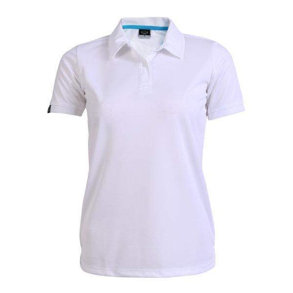 เสื้อโปโลหญิงแกรนด์สปอร์ต รหัสสินค้า : 012772 (สีขาว)